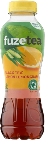 FUZE TEA Black tea lemon lemongrass
