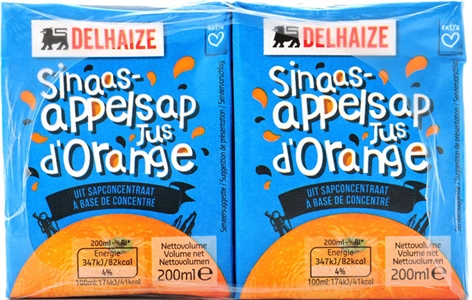 DELHAIZE Jus d'orange