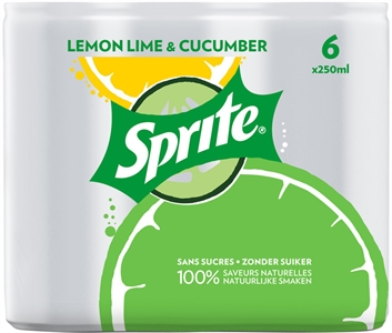 SPRITE Lemon lime cucumber