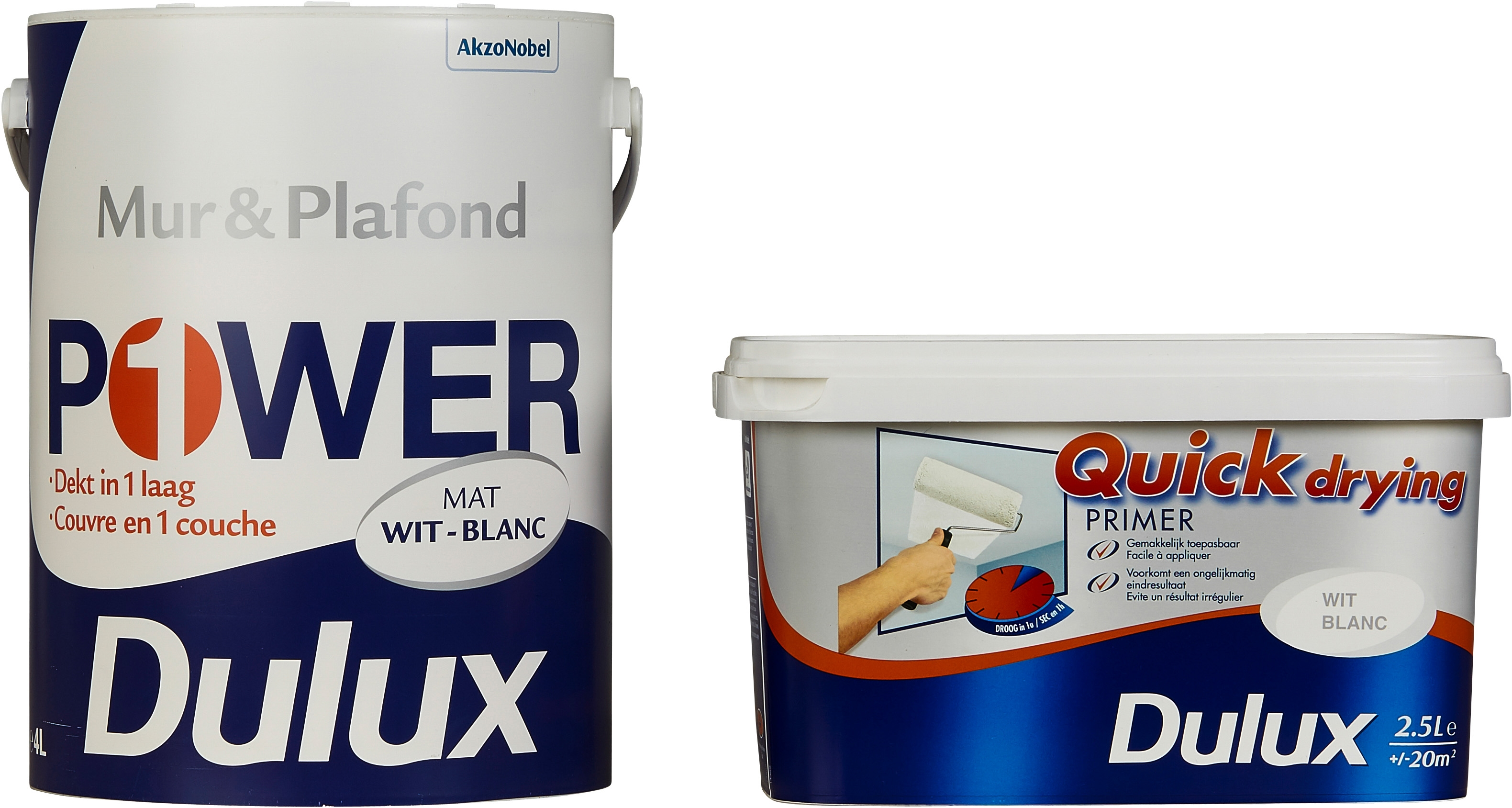 Dulux Power Mur Plafond Mat