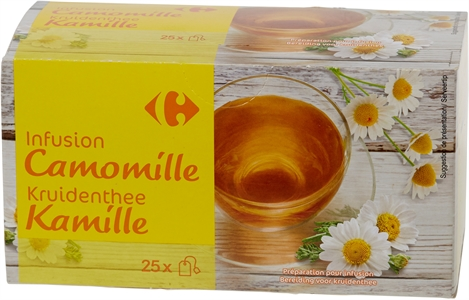 CARREFOUR INFUSION CAMOMILLE