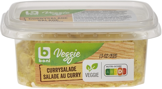 BONI SELECTION (COLRUYT) VEGGIE - SALADE AUX CURRY