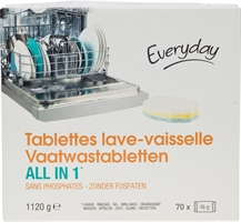 EVERYDAY TABLETTES LAVE-VAISSELLE ALL IN 1 | Meilleurs lessives 2020 - Test Achats