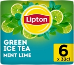 LIPTON Iced tea green mint lime