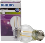 PHILIPS PHILIPS CLASSIC LEDLUSTRE E27 P45 2.7W 827 CLAIRE | DIMMABLE - SUBSTITUT 25W