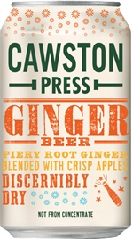 CAWSTON Ginger beer blended apples