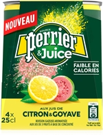 PERRIER & juice citron goyave