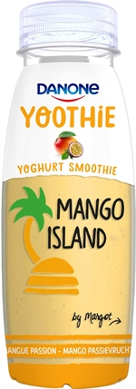DANONE Yoothie mangue fruit passion