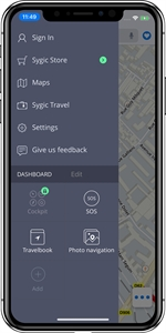 SYGIC GPS Navigation & Maps (iOS)